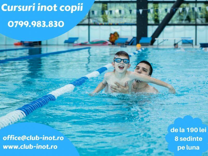 Swimming Team: Cursuri de inot pentru copii, la 4 bazine din Bucuresti